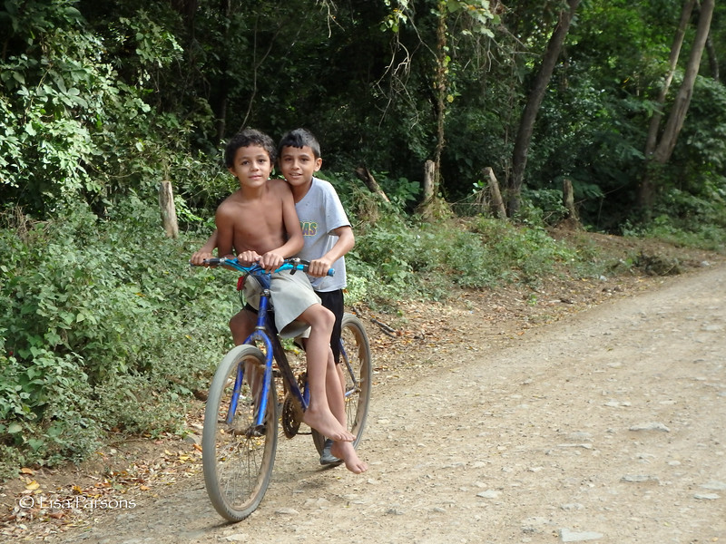 Friends Getting Around By Bicycle