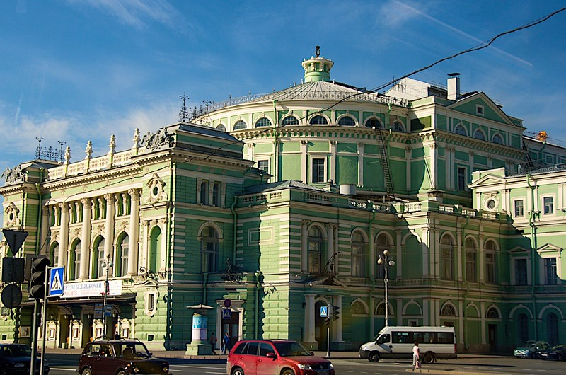 Mariinskiy Theatre - St. Petersburg, Russia