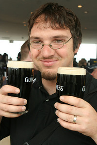 Dave happy to have Guiness