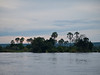 Sundown scenery on the Zambezi River