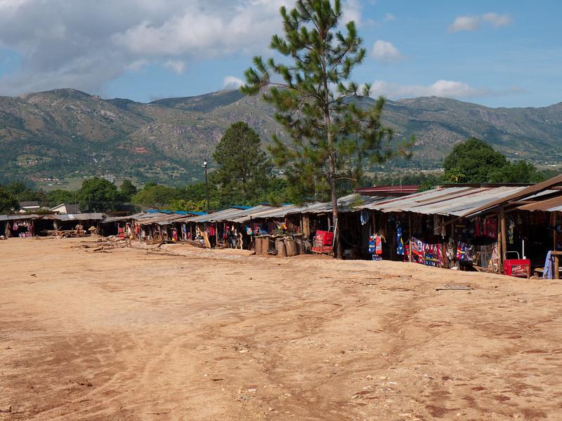 Roadside Market in Swaziland
