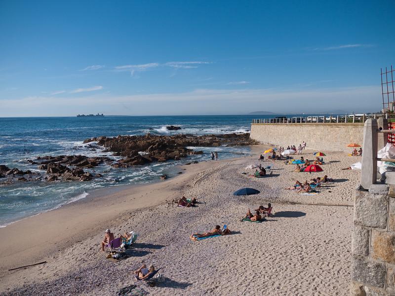Cape Town Shoreline in the Sea Point area.
