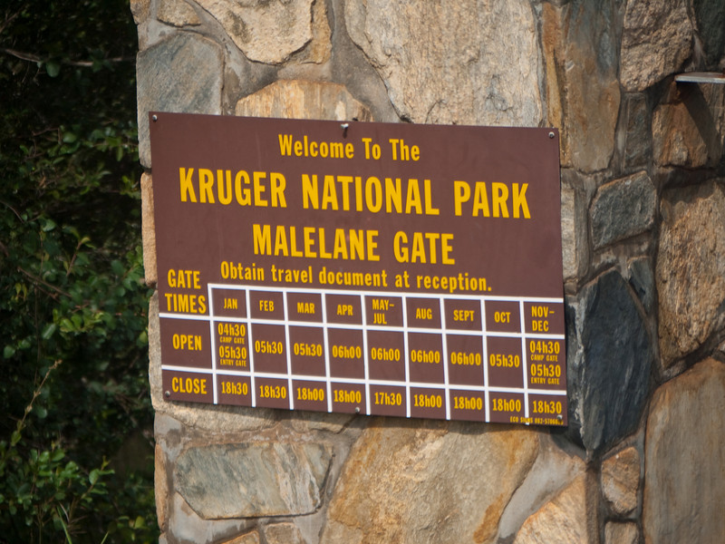 Welcome to Kruger National Park