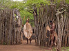 Entering the Zulu Village