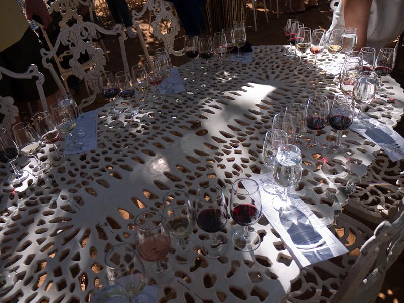 Wine tasting at Boschendal Vineyards