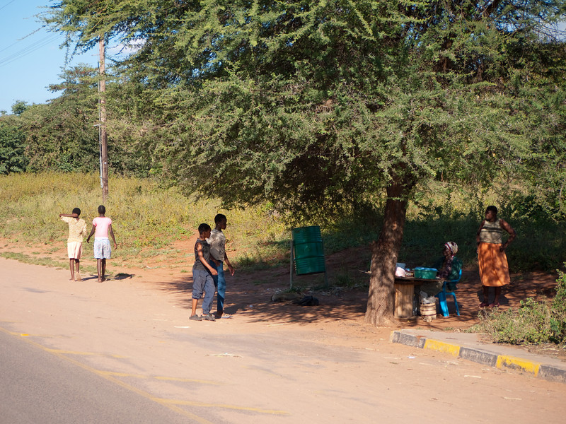 Street Life outside  Chobe National Park