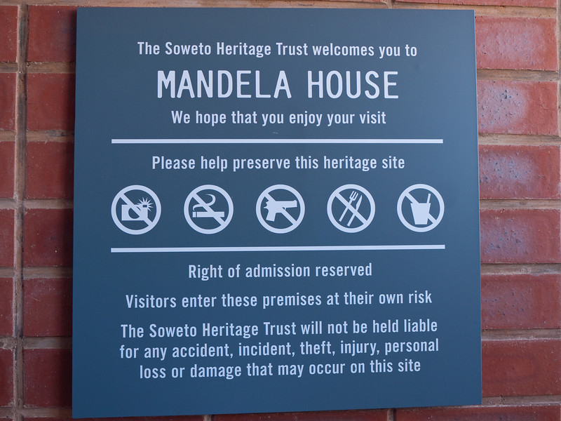 Nelson Mandela House in Soweto South Africa