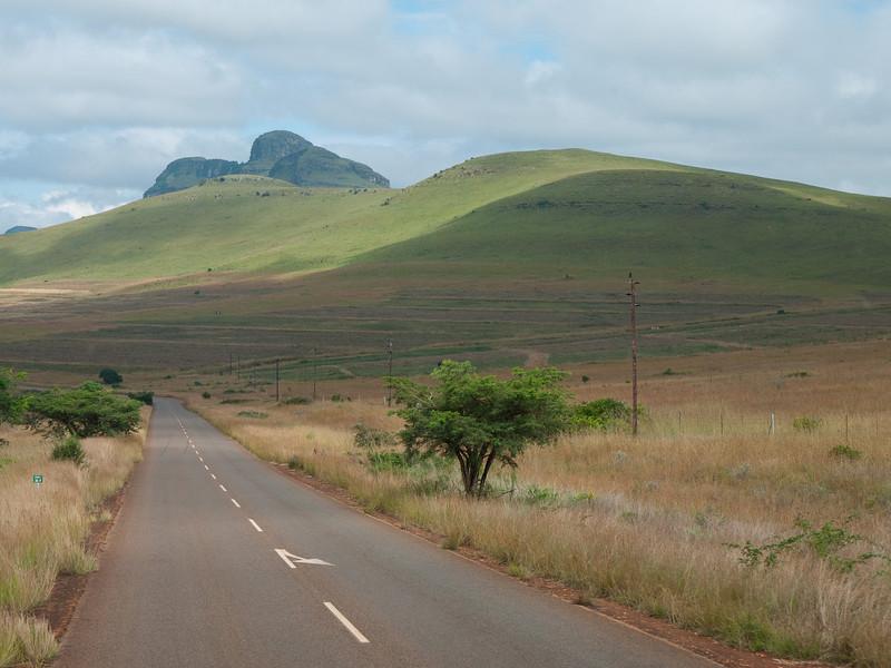 Scenery in Mpumalanga on the way to God's Window