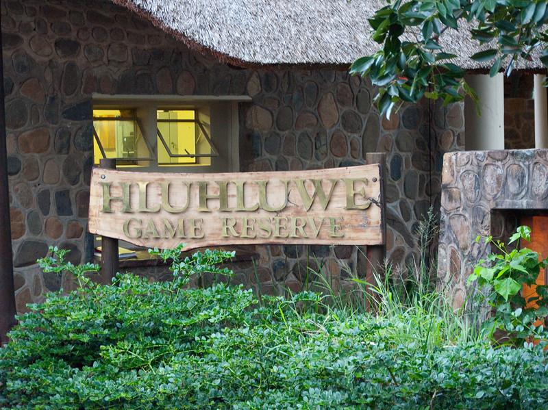 The Hluhluwe Umfolozi Game Reserve in Zululand