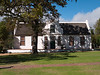 The Restored Farm House at Boschendal Vineyards