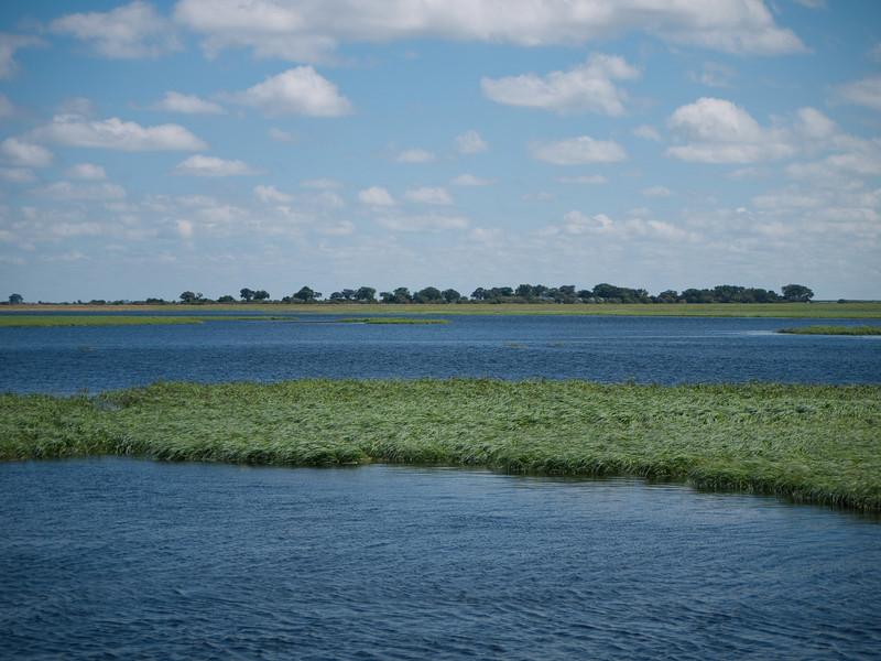 Chobi River to become the Zambezi River downstream.