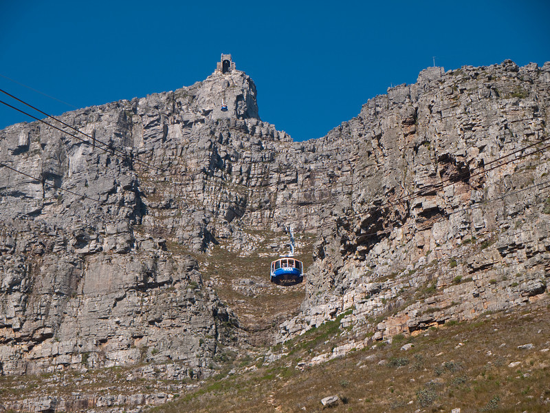 Cable Car to the Top of Table Mountain