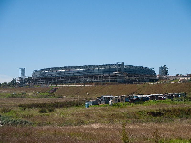 New Soccer Stadium in Soweto South Africa