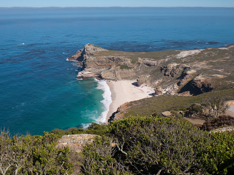 From the top of the Cape Point Lighthouse