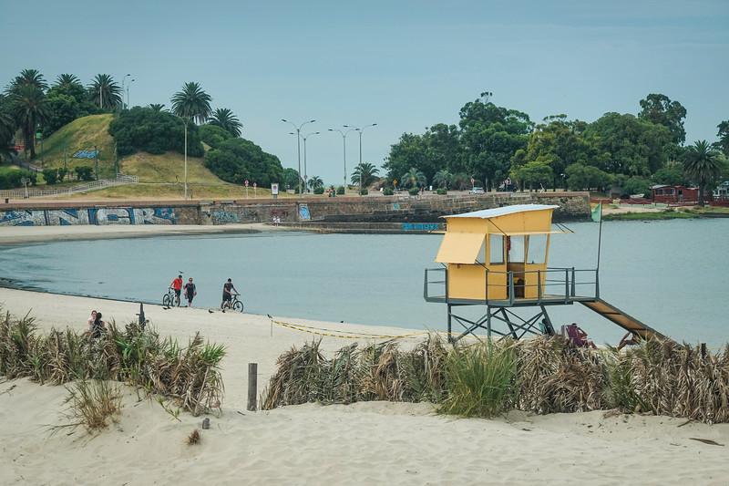 Beaches of Montevideo, Uruguay.