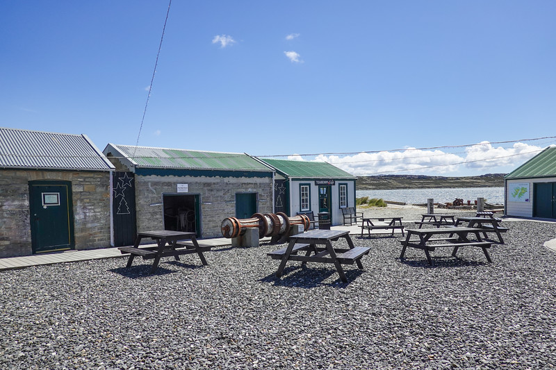 Part of the Port Stanley National Museum for the Falkland Islands, U.K.