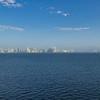Panama City in the morning haze.