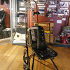 Early Dentist's Chair in the Historical Museum, Port Stanley, Falkland Islands, U.K.