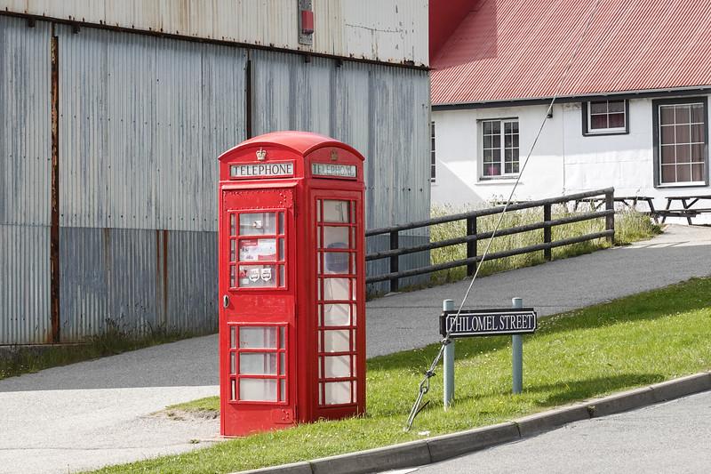 ET phoned home from here. Port Stanley, Falkland Islands, U.K.