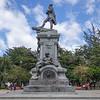Monument to Tierra del Fuego, in a park in Punta Arenas, Chile.