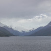 Leaving Glacier Alley at dusk, headed for Punta Arenas and Chacabuco, Patagonia, Southern Chile.