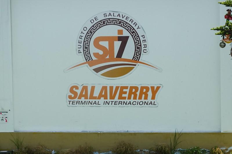Puerto de Salaverry, Trujillo, Peru.