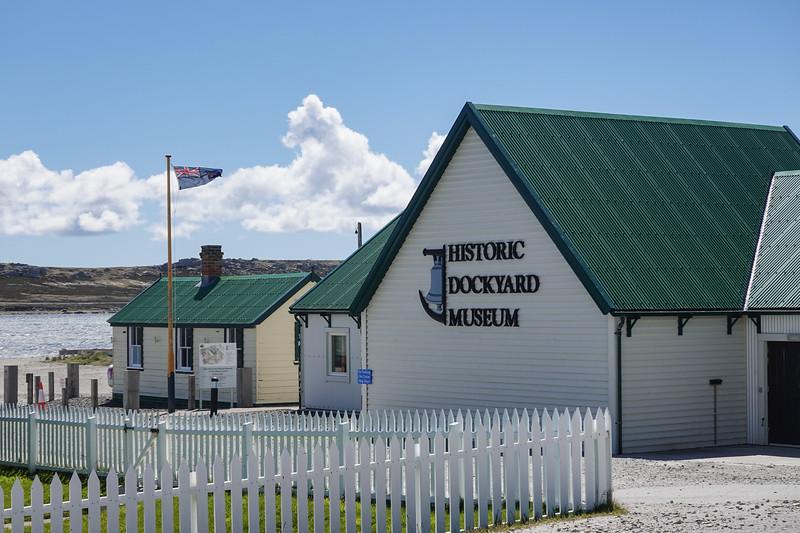 The Historic Dockyard Museum, Port Stanley, Falkland Islands, U.K.