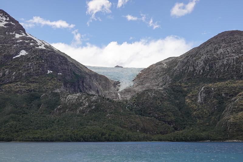 Francia Glacier in Glacier Alley, Beagle Channel between Chile and Argentina.