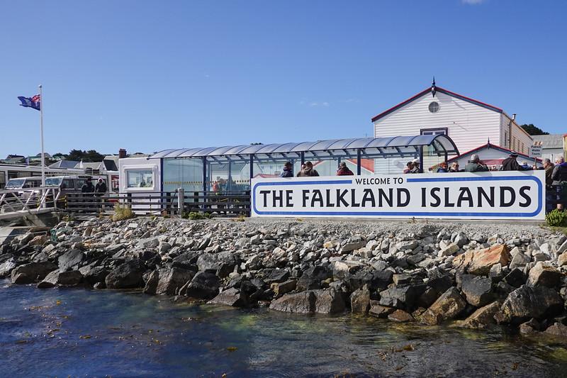 Welcome to Port Stanley, the Falkland Islands, U.K.