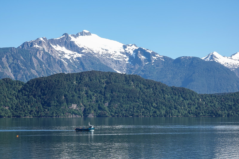 In Harbor, Chacabuco, Chile. New Year's Day 2020.
