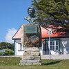Monument to Margaret Thatcher in the Falkland Islands, U.K.