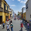 Streets of Trujillo, Peru.