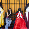 Pla with the Nuns of the San Francisco Monastery, Lima, Peru..