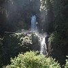 Waterfall in the Park. Chacabuco, Chile.