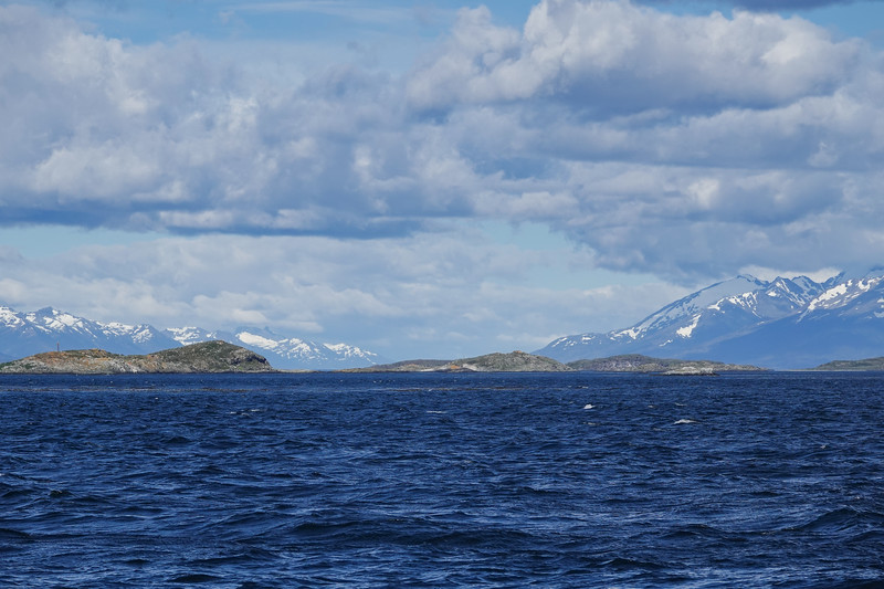 The natural beauty of the Beagle Channel, Ushuaia, Argentina.