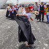 Going ashore in the Port of Salaverry, Trujillo, Peru,  we are greeted by local dancers.
