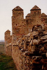 The walls of Avila - Avila, Spain ... March 2003 ... Photo by Rob Page III