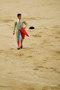 A bullfight - Madrid, Spain ... March 2003 ... Photo by Rob Page III