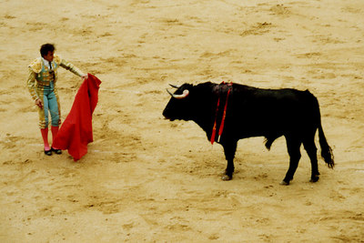 The bullfight - Madrid, Spain ... March 2003 ... Photo by Rob Page III