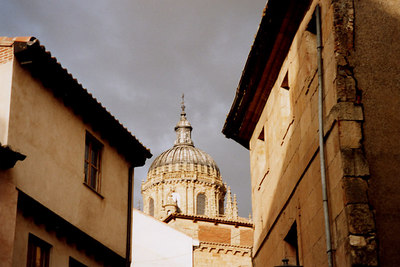 A storm rolls in - Salamanca, Spain ... March 2003 ... Photo by Rob Page III