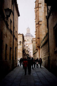 Salamanca, Spain ... March 2003 ... Photo by Rob Page III