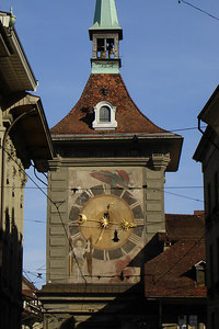 The Zytglogge (Clock Tower) - Bern, Switzerlnad ... March 4, 2007 ... Photo by Rob Page III