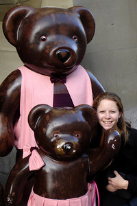 Emily and the three bears - Bern, Switzerland ... March 4, 2007 ... Photo by Rob Page III