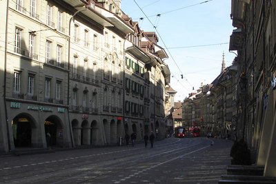 The old streets of Bern - Bern, Switzerlnad ... March 4, 2007 ... Photo by Rob Page III