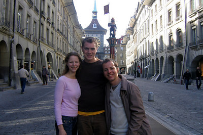 Taking in the Swiss capital - Bern, Switzerland ... March 4, 2007 ... Photo by Michael Ruprecht