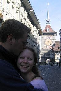 Rob and Emily enjoying the Swiss capital - Bern, Switzerland ... March 4, 2007 ... Photo by Michael Ruprecht