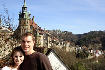 Rob and Emily - Fribourg, Switzerland ... March 4, 2007 ... Photo by Michael Ruprecht