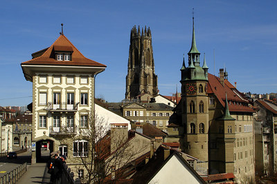 Catedrale de St Nicholas - Fribourg, Switzerland ... March 4, 2007 ... Photo by Rob Page III
