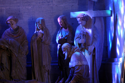 Inside Cathedrale de St Nicholas - Fribourg, Switzerland ... March 4, 2007 ... Photo by Rob Page III