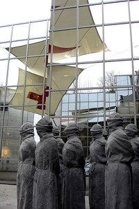 Outside the Red Cross Museum - Geneva, Switzerland ... March 2, 2007 ... Photo by Rob Page III
